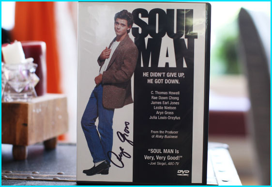 Signed Soul Man DVD by Arye Gross - Listener Giveaway