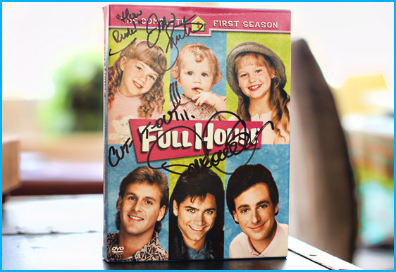 Full House DVD signed by Jodie Sweetin