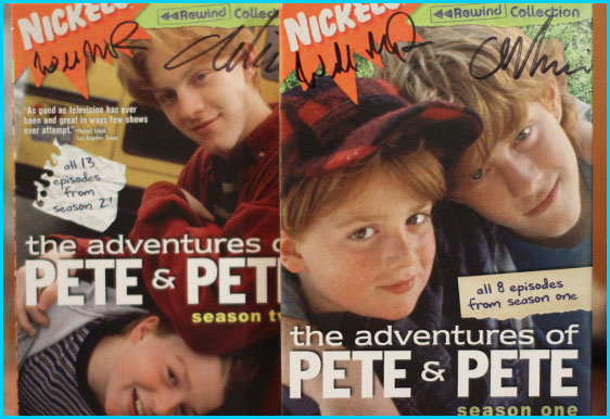 Adventures of Pete and Pete signed dvds