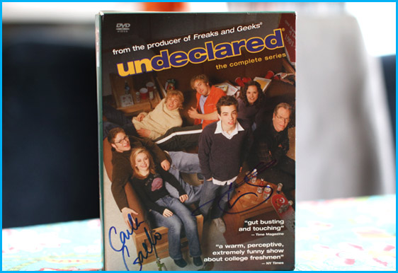 Signed Undeclared DVD by Timm Sharp and Carla Gallo