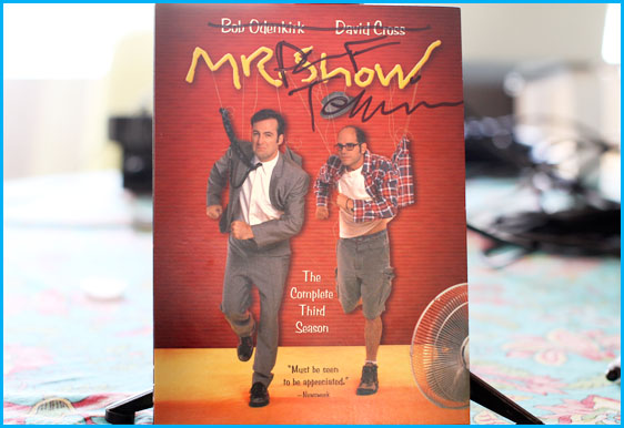 Mr. Show DVD signed by Paul F. Tompkins giveaway by PMC podcast