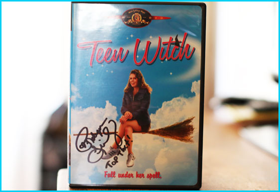 Teen Witch DVD signed by Robyn Lively