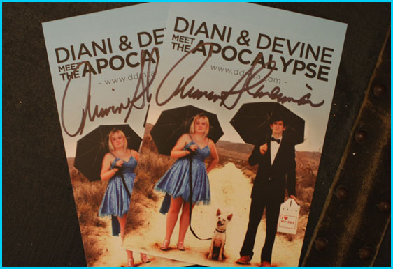 Armin Shimerman signed Diani & Devine meet the apocalypse