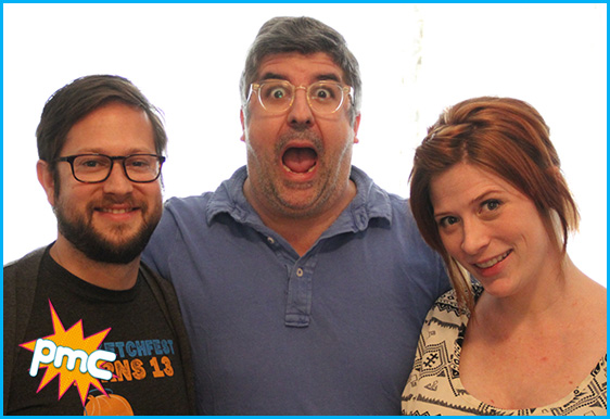 Dana Snyder with hosts Cole Stratton and Vanessa Ragland