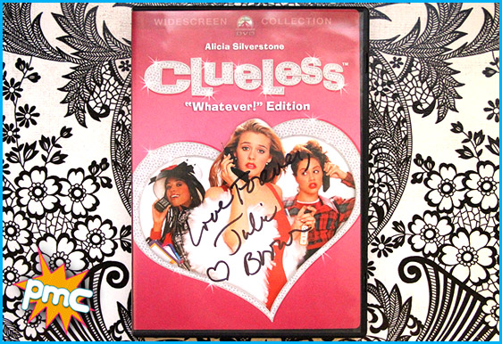 Clueless DVD signed by Julie Brown
