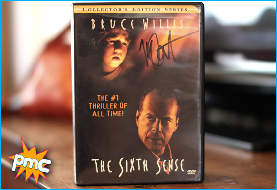The Sixth Sense DVD signed by Haley Joel Osment