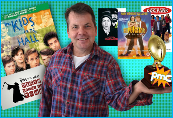 Bruce McCulloch interview on Pop My Culture podcast