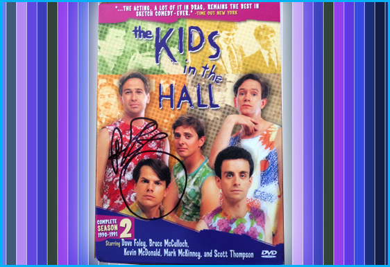 Kids in the Hall DVD signed by Bruce McCulloch