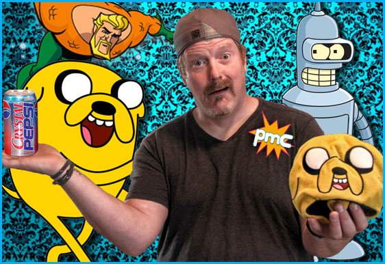 John DiMaggio interview on Pop My Culture podcast