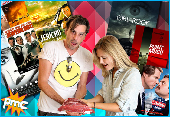 Skeet Ulrich and Amelia Jackson-Gray interview on Pop My Culture podcast