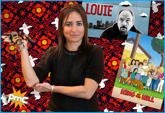 Pamela Adlon interview on Pop My Culture podcast