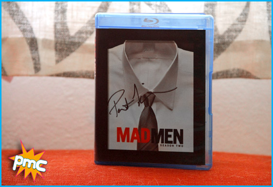 Mad Men DVD signed by Patrick Fischler - pop my culture giveaway