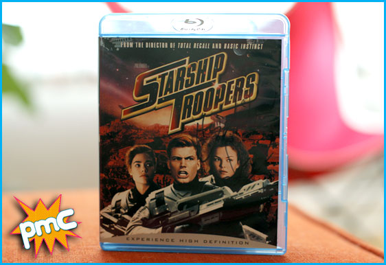 Starship Troopers signed DVD