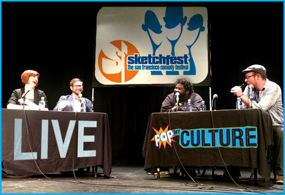 SF Sketchfest Pop my culture podcast 2015