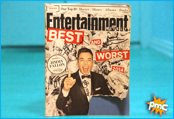 Signed copy of Entertainment Weekly's Best and Worst of 2014