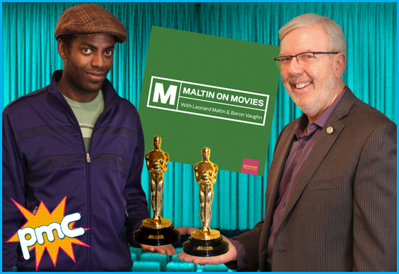 Leonard Maltin and Baron Vaughn interview on Pop My Culture podcast