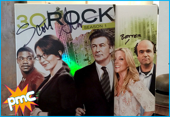 signed 30 rock dvd by Scott Adsit