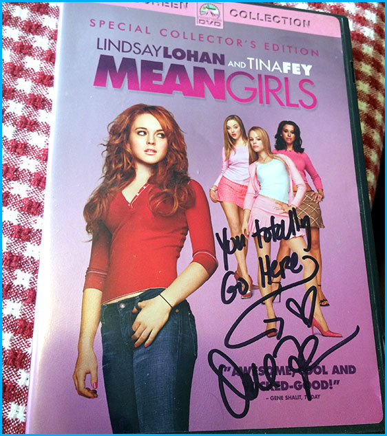 Signed Mean Girls DVD by Daniel Franzese
