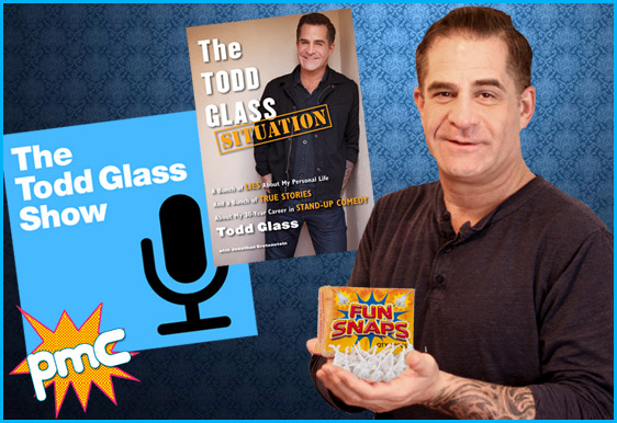 Todd Glass interview on Pop My Culture podcast