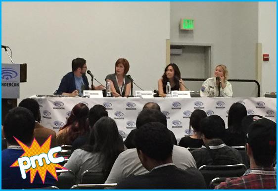 Wondercon Panel 2015 - Jessica Chobot & Whitney Moore