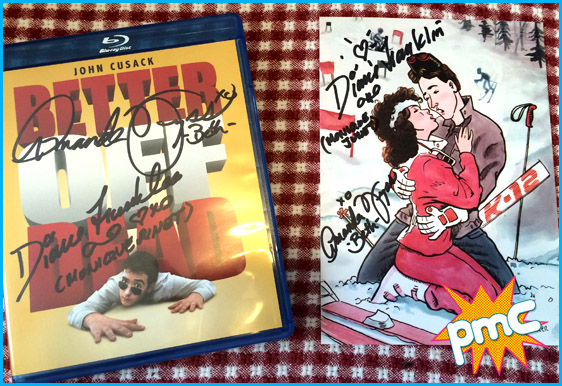 Better off dead signed dvd and print signed by Diane and Amanda!