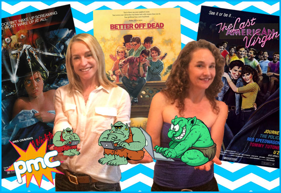 Diane Franklin and Amanda Wyss interview on pop my culture podcast
