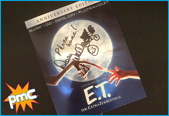 Signed copy of E.T. by Dee Wallace