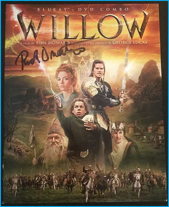 Willow signed by Rick Overton