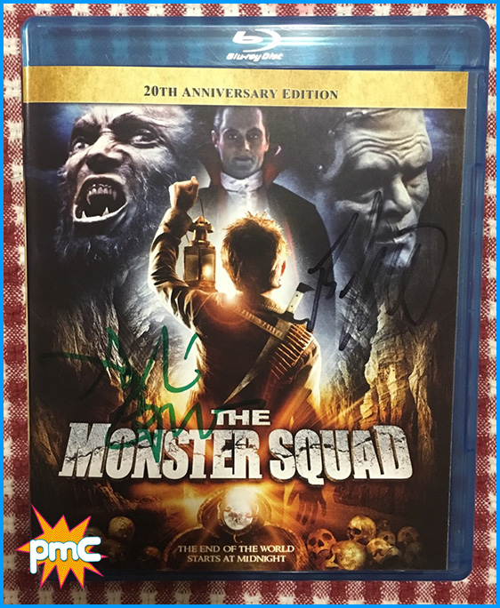 Signed The Monster Squad bluray